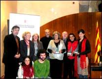 Guanyadors del 13è Premi Voluntariat 2006