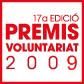 Logo dels premis voluntariat 2009