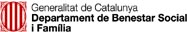 Banner de Generalitat de Catalunya. Departament de Benestar Social i Família