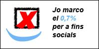 Jo també marco el 0,7% per a fins socials