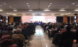 Sessió plenària del II Congrés Europeu del Voluntariat