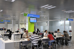 Oficina de treball. Font: Treball. Generalitat de Catalunya
