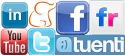 Logotips de xarxes socials